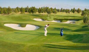 Gulmarg Golf Club near Srinagar